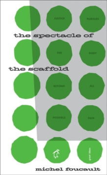 The Spectacle of the Scaffold, Paperback Book
