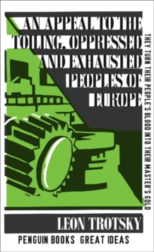 An Appeal to the Toiling, Oppressed and Exhausted Peoples of Europe, Paperback Book