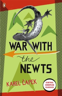 War with the Newts, Paperback Book