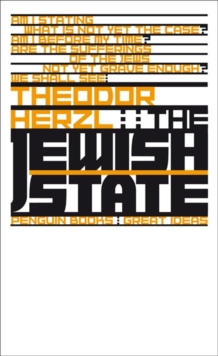 The Jewish State, Paperback Book