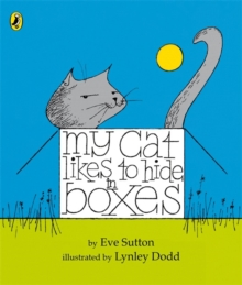 My Cat Likes to Hide in Boxes, Board book Book