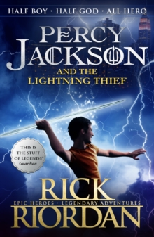 Percy Jackson and the Lightning Thief (Book 1), Paperback Book