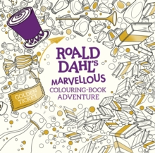 Roald Dahl's Marvellous Colouring-Book Adventure, Paperback Book