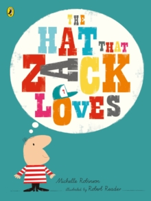 The Hat That Zack Loves, Paperback Book