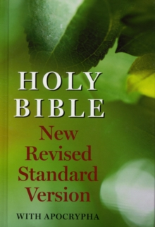 New Revised Standard Version Bible: With Apocrypha, Hardback Book