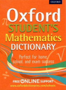 Oxford Student's Mathematics Dictionary, Mixed media product Book