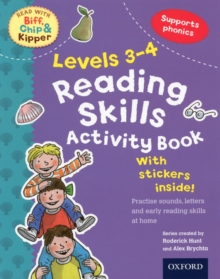 Oxford Reading Tree Read With Biff, Chip, and Kipper: Levels 3-4: Reading Skills Activity Book, Mixed media product Book