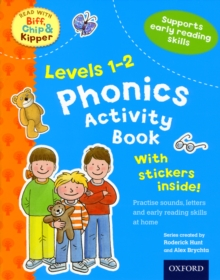 Oxford Reading Tree Read With Biff, Chip, and Kipper: Levels 1-2: Phonics Activity Book, Mixed media product Book