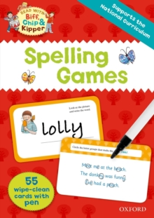 Oxford Reading Tree Read with Biff, Chip and Kipper: Spelling Games Flashcards, Mixed media product Book