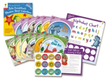 Oxford Reading Tree Songbirds: Levels 1+ and 2: Get Started With Julia Donaldson's Phonics Story Collection, Mixed media product Book