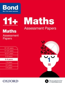 Bond 11+: Maths: Assessment Papers : 8-9 Years, Paperback Book
