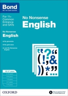 Bond: English: No Nonsense : 10-11+ years, Paperback Book