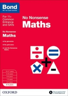 Bond: Maths: No Nonsense : 5-6 Years, Paperback Book