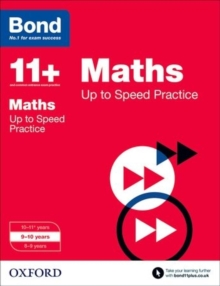 Bond 11+: Maths: Up to Speed Papers : 9-10 Years, Paperback Book