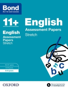 Bond 11+: English: Stretch Papers : 8-9 Years, Paperback Book