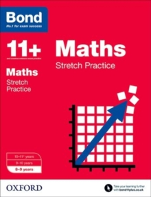 Bond 11+: Maths: Stretch Papers : 8-9 Years, Paperback Book