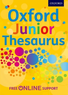 Oxford Junior Thesaurus, Mixed media product Book