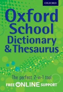 Oxford Combined Dictionary/Thesaurus 2012, Mixed media product Book