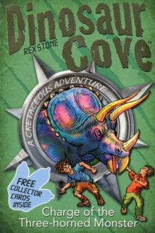 Dinosaur Cove: Charge of the Three Horned Monster, Mixed media product Book