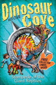 Dinosaur Cove: Stampede of the Giant Reptiles, Mixed media product Book