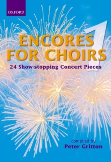 Encores for Choirs 1 : Vocal score, Sheet music Book