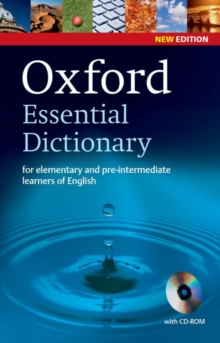 Oxford Essential Dictionary, New Edition with CD-ROM, Mixed media product Book