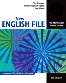 New English File Pre-Intermediate: Student's Book : Six-Level General English Course for Adults, Paperback Book