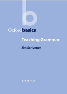 Teaching Grammar, Paperback Book