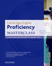 Cambridge English: Proficiency (CPE) Masterclass: Student's Book with Online Skills and Language Practice Pack : Master an exceptional level of English with confidence, Mixed media product Book