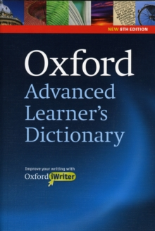 Oxford Advanced Learner's Dictionary, 8th Edition: Hardback with CD-ROM (includes Oxford iWriter), Mixed media product Book