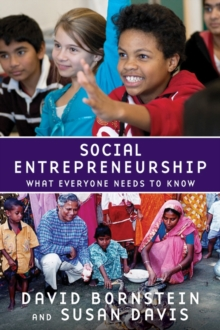 Social Entrepreneurship : What Everyone Needs to Know, Paperback Book