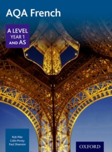 AQA A Level Year 1 and AS French Student Book, Paperback Book