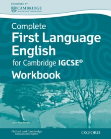 Complete First Language English for Cambridge IGCSE (R) Workbook, Paperback Book