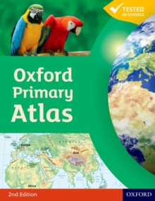 Oxford Primary Atlas, Hardback Book