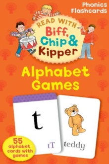 Oxford Reading Tree Read with Biff, Chip, and Kipper: Alphabet Games Flashcards, Cards Book