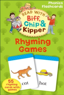 Oxford Reading Tree Read with Biff, Chip, and Kipper: Rhyming Games Phonics Flashcards, Cards Book