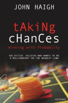 Taking Chances : Winning with Probability, Paperback Book
