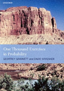 One Thousand Exercises in Probability, Paperback Book