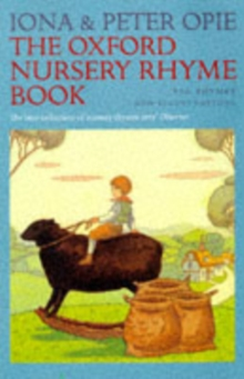 The Oxford Nursery Rhyme Book, Hardback Book