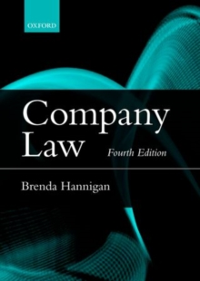 Company Law, Paperback Book