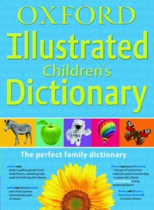 Oxford Illustrated Children's Dictionary, Paperback Book