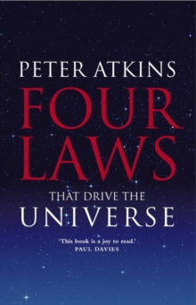 Four Laws That Drive the Universe, Hardback Book