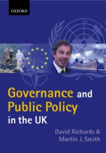 Governance and Public Policy in the United Kingdom, Paperback Book