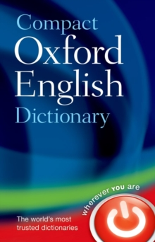 Compact Oxford English Dictionary of Current English : Third edition revised, Hardback Book