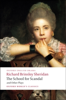 The School for Scandal and Other Plays, Paperback Book