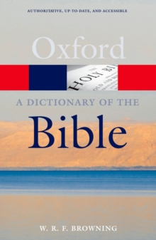 A Dictionary of the Bible, Paperback Book