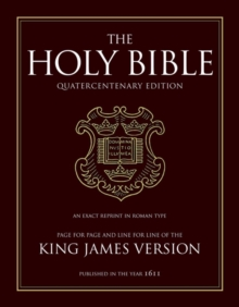King James Bible : 400th Anniversary Edition, Leather / fine binding Book