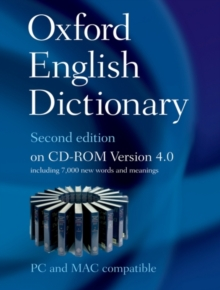The Oxford English Dictionary Second Edition on CD-ROM Version 4.0 : Windows/Mac Individual User Version, CD-ROM Book