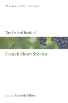 The Oxford Book of French Short Stories, Paperback Book