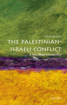 The Palestinian-Israeli Conflict: A Very Short Introduction, Paperback Book
